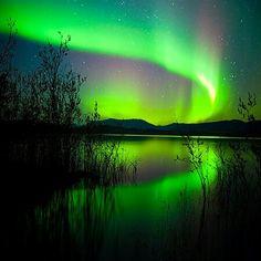 Aurora Borealis Nordlyser Northern lights Nordlicht