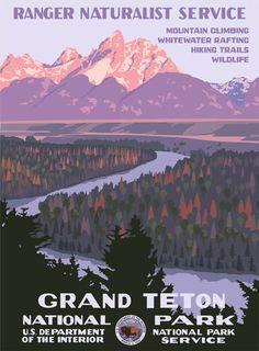 Grand Teton Poster Large
