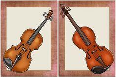Weiter geht's mit den Streich- und Tasteninstrumenten     Heute gibt es Bildkarten  zu den bekanntesten Streich- und Tasteninstrumenten. Al...