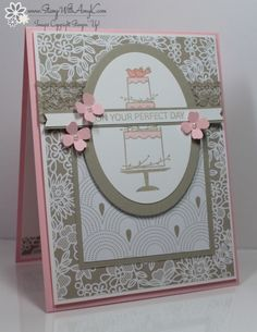 I used the Your Perfect Day stamp set from Stampin' Up! to create my card to share today. My...