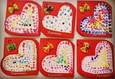 Przedszkolne inspiracje: Zaproszenie na Dzień Babci i Dziadka Diy And Crafts, Crafts For Kids, Arts And Crafts, Paper Crafts, Grandparents Day, Preschool Crafts, Valentines Day, Projects To Try, Presents