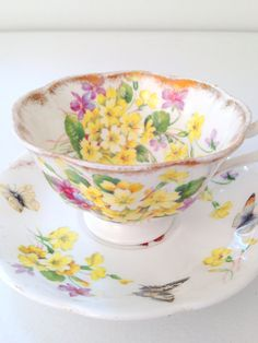 Vintage English Royal Albert Tea Cup and Saucer by MariasFarmhouse, $28.00