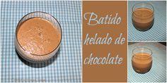 COCINANDO CON THERMOMIX MALAGA: Batido helado de chocolate