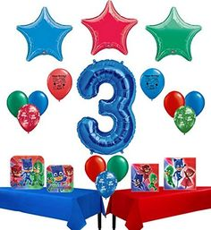 PJ Masks Happy 3rd Birthday Party Supply and Balloon Bundle by Combined Brands, http://www.amazon.com/dp/B06VW3X3SX/ref=cm_sw_r_pi_dp_x_5cC0ybJDTNG6D