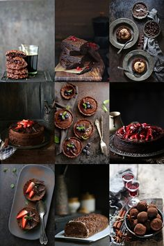 Dark Chocolate Buckwheat Dessert Cakes … Happy World Chocolate Day Food Photography Styling, Food Styling, Chocolate Day, Chocolate Cakes, Salted Butter, Tray Bakes, Food Pictures, Food Art, Bakery