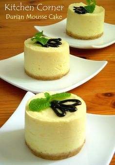 #Durian #Mousse #Cake ... only for the strong of hearts. #exoticcake