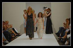 Judith Bech design on catwalk at Oslo Fashion Week