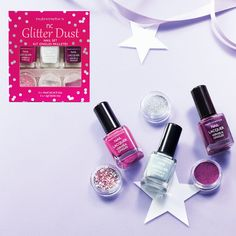 50 years of beauty. Available exclusively via Nutrimetics Consultants. Nail Lacquer, Glitter Dust, Nail Set, Christmas 2015, Natural Skin Care, Body Care, Beauty Products, Health And Beauty, Perfume Bottles
