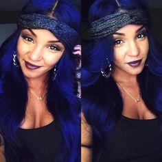 #blue #bluehair #trending