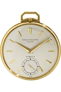 Patek Philippe - 18K Yellow Gold Pocket Watch Reference 600 - 1950's