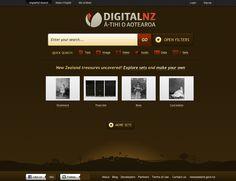 DigitalNZ, web application - http://digitalnz.org.nz/