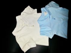 Smart white and blue onesie. Available Sizes: 0-6M. NRs 950 each.