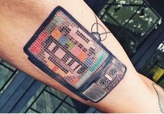 Cross-stitch TV by Eva Krbdk!