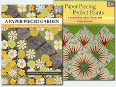 WIN 2 free paper piecing books from Quilt Trends Magazine! Expires April 11th.