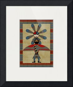 """""""Sun Journey"""" by Sharon Sims, Palm Harbor // Native American folklore print. // Imagekind.com -- Buy stunning fine art prints, framed prints and canvas prints directly from independent working artists and photographers."""