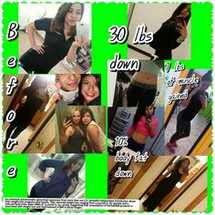 Ask me how I lost 30 pounds and got active Accareaga@gmail.com  Or visit my site for all our products  www.goherbalife.com/andreacareaga/en-US