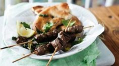 grilled lamb kebabs Lamb Kebabs, Grilled Lamb, Bees, Main Dishes, Grilling, Recipes, Food, Main Course Dishes, Entrees