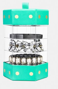 Create the prettiest stacked wrist with this gorgeous bangle gift set by BaubleBar