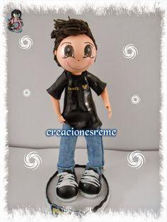 personalizada creacionesreme 3fofucho #fofuchopersonalizado  muñeco fofucho con vaqueros  #zapatillasfofuchos