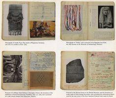 carnet d'artiste : art textile US, journal de Sheila Hicks, femmes artistes