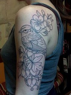 love the outline to this #ink