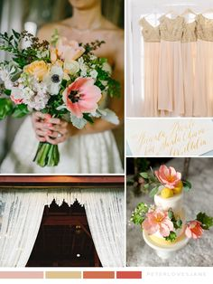 Sophisticated and Romantic Citrus Wedding Inspiration