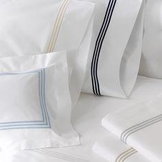 Matouk - Bel Tempo Almond King Pillowcase Set 2pce | Peter's of Kensington