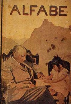 Atatürk and adopted daughter Ülkü Adatepe