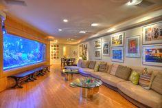 Aquarium - Contemporary - contemporary - family room - orange county - Mark Scott Associates | Landscape Architecture