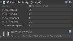 Unity Particle Script