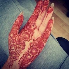 #mehendi #henna #design #hand #beautiful #art
