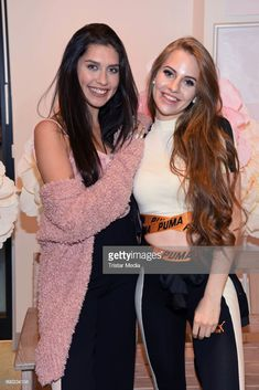 Ana Lisa Kohler and Lisa-Marie Schiffner attend the 'Lvly' care series launch by Paola Maria and DM Drugstore at Invalidenstrasse on July 2018 in Berlin, Germany. Berlin Germany, Product Launch, Tumblr, T Shirt, Women, Fashion, Pictures, Nice Outfits, Nice Asses