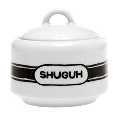 No sleep til...BROOKLYN Brooklynese Shuguh Sugar Bowl $16.50