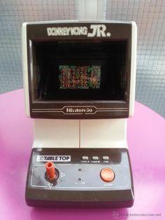 GAME WATCH TABLETOP TABLE TOP DONKEY KONG JR NINTENDO 1983 - Foto 1