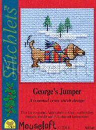 Mouseloft Mini Cross Stitch Kit Stitchlets Collection Sunset Birds