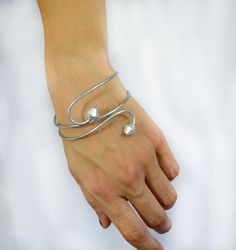 Adjustable bracelet Wire Wrap Bracelet  by theELEPHANTpink on Etsy, $12.50