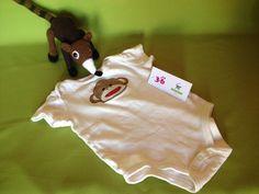 Body Sock Monkey, marca Baby Starters, 3-6 meses, Q20.00