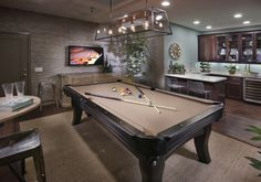 Great game room for entertaining!