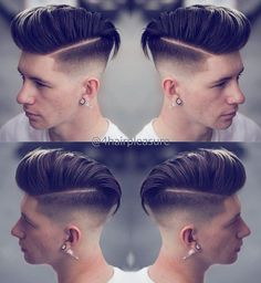 """Figure out even more info on """"hairstyles men"""". Look into our site. Popular Mens Hairstyles, Classic Hairstyles, Undercut Hairstyles, Hairstyles Haircuts, Kid Haircuts, Side Part Pompadour, Silver Hair Highlights, Comb Over Haircut, Gents Hair Style"""