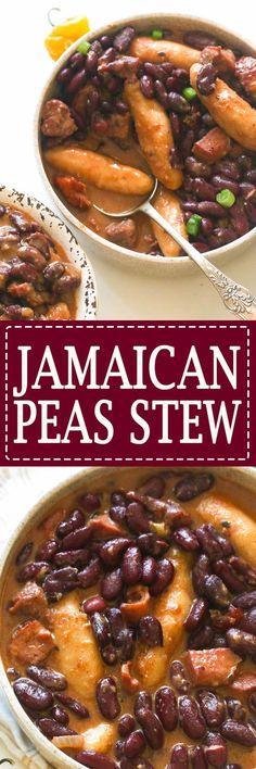 Jamaican stew peas-