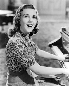 """It Started With Eve"" my favorite Deanna Durbin movie."