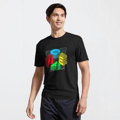 """Do I Care? NOPE"" Active T-Shirt by Huseyn1   Redbubble Tiger Logo, Baseball T, Shape Patterns, Portrait, Chiffon Tops, Female Models, Rock And Roll, Retro Vintage, Vintage Rock"