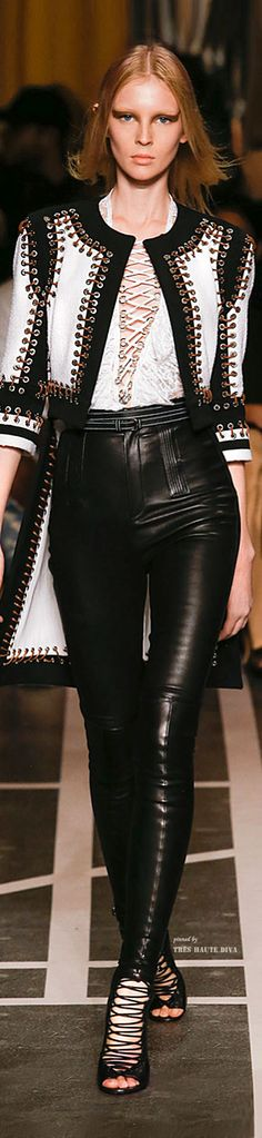 #Paris FW Givenchy Spring Summer 2015 RTW