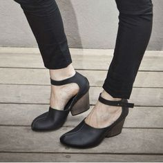 Sale 30% OFF- Black Maryjane shoes/ Black leather shoes / Black High Heels / Women black pumps / Ankle strap shoes on Etsy, $269.00