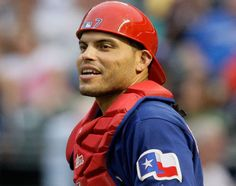 Pudge... Love him. Besides Nolan - my favorite although Napoli is gaining on him. Glad to see him coming home to retire.