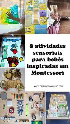 Jogos de aprendizagem para crianças inspirados no método Montessori
