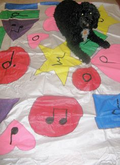 Music games for elementary (couple of cute ideas that encourage participation)