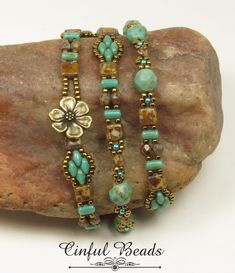 The most mentioned reason that individuals buy from the items of independent jewelry designers is because they believe that these precious jewelry are art they can wear. Beaded Wrap Bracelets, Seed Bead Bracelets, Seed Bead Jewelry, Handmade Bracelets, Handcrafted Jewelry, Beaded Jewelry, Jewelry Bracelets, Seed Beads, Jewelry Patterns