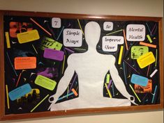 RA Bulletin Board Promoting Mental Health