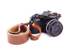 Vintage Leather Camera Strap  Stylish Handmade by BokehLeathers, $67.00